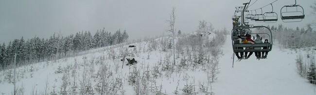 lyžování Slovensko - Ždiar-Strednica