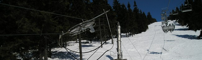 lyžování Česko - Soláň