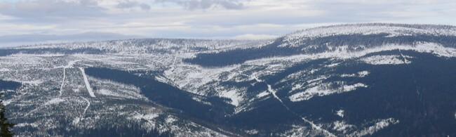 lyžování Slovensko - Kubínska hoľa