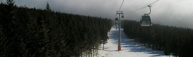 Štrbské Pleso - slovenské lyžařské středisko