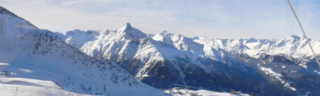 lyžování Itálie - Aprica