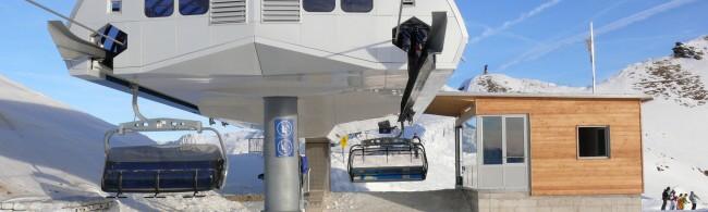lyžování Francie - Courchevel