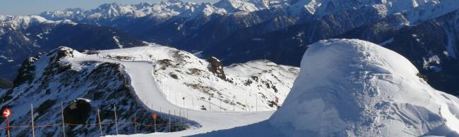 lyžování Rakouko - Marienberg