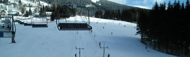 lyžování Slovensko - Čertovica