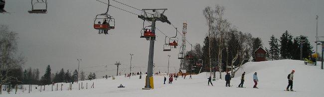 lyžování Česko - Mladé Buky