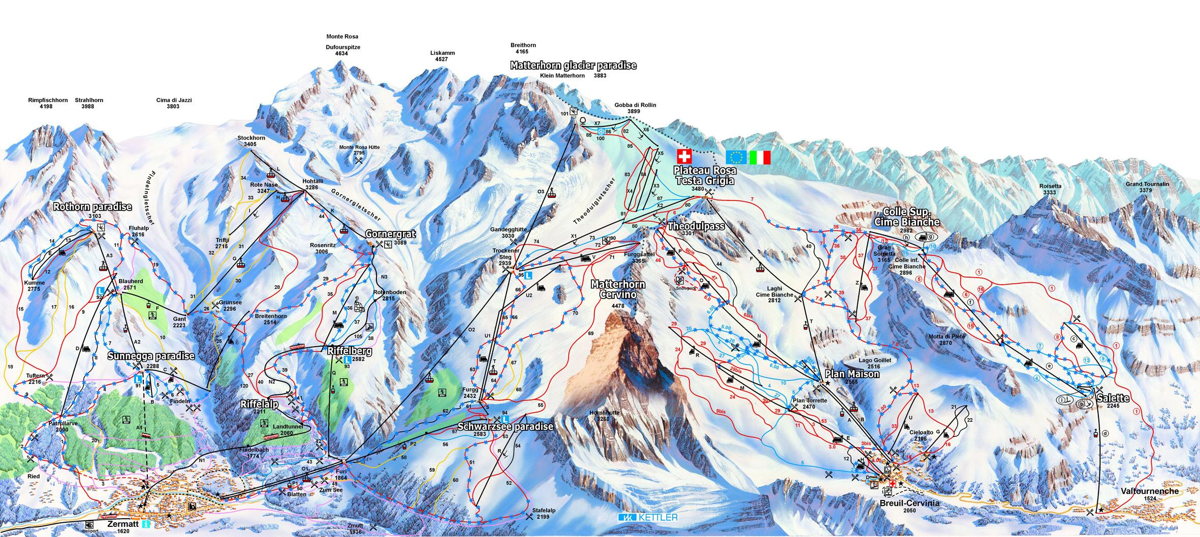lavarone-ski-mapa