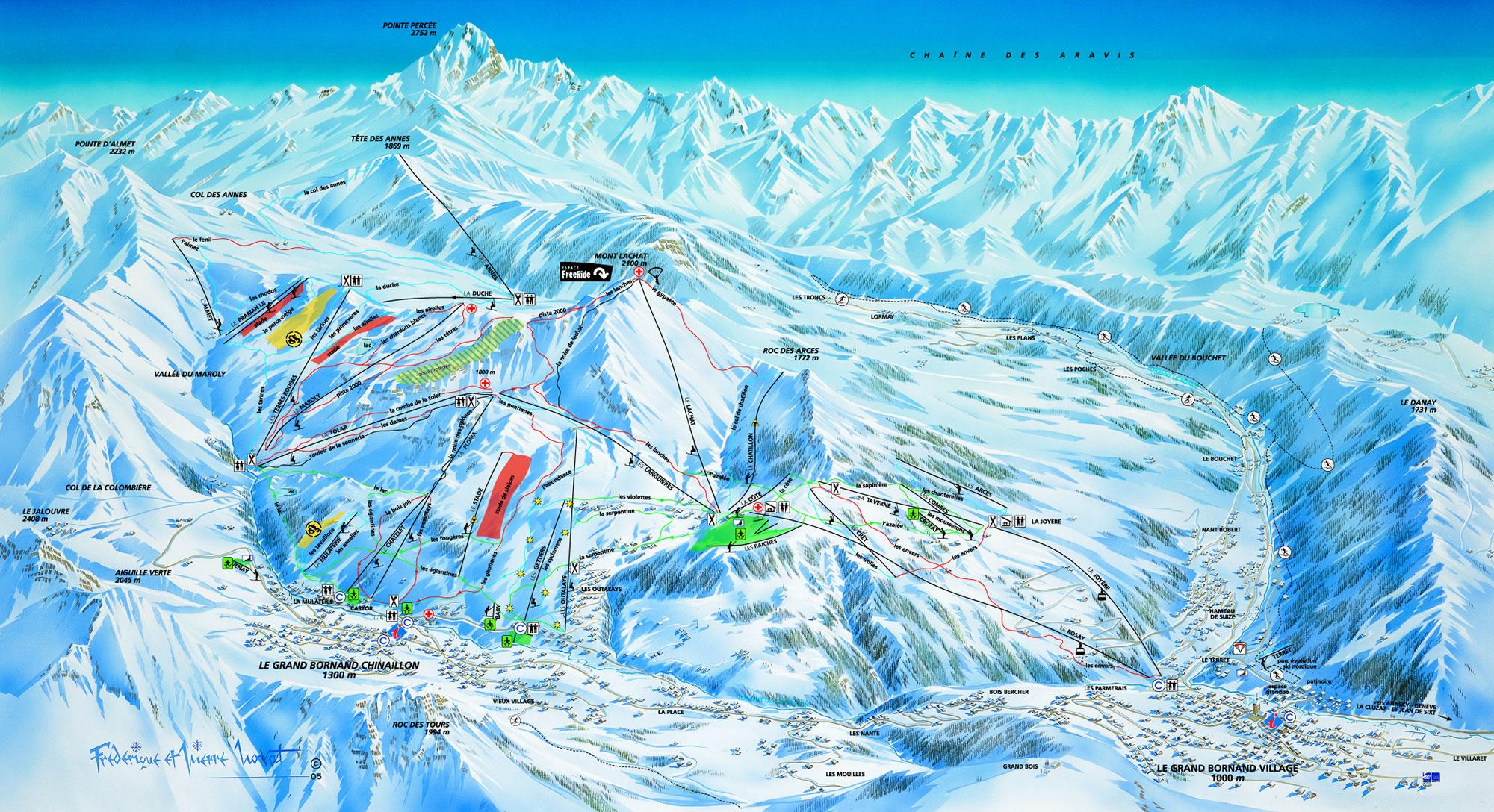 le-grand-ski-mapa
